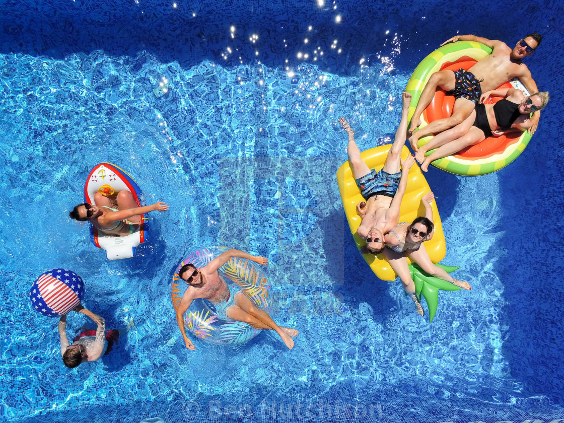 """""""The Inflatables"""" stock image"""