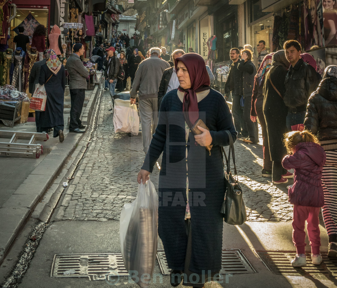 """OLD BAZAAR"" stock image"