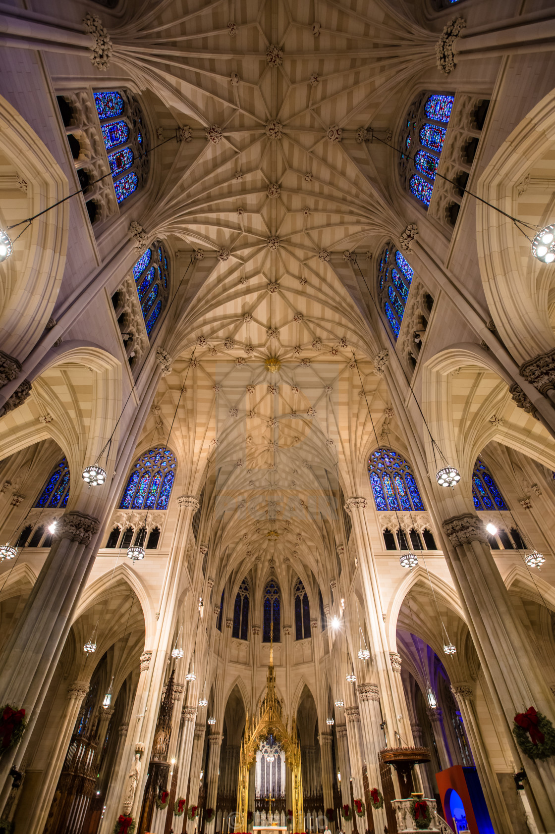 """St.Patricks Cathedral"" stock image"