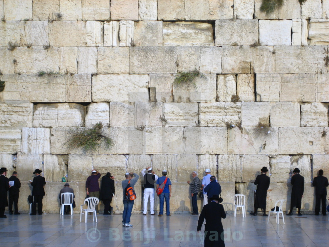 """The Wailing Wall"" stock image"