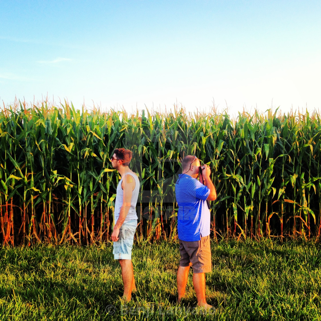 """Corny photos"" stock image"