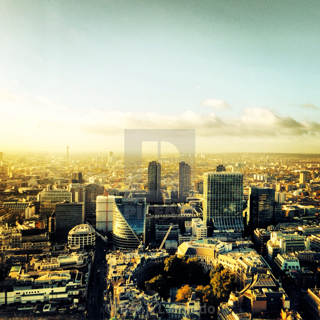 """London skyline"" stock image"