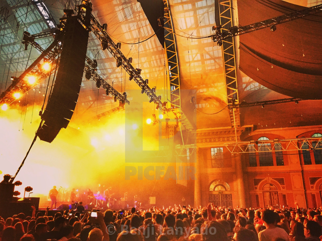 """Gig at Alexandra Palace"" stock image"