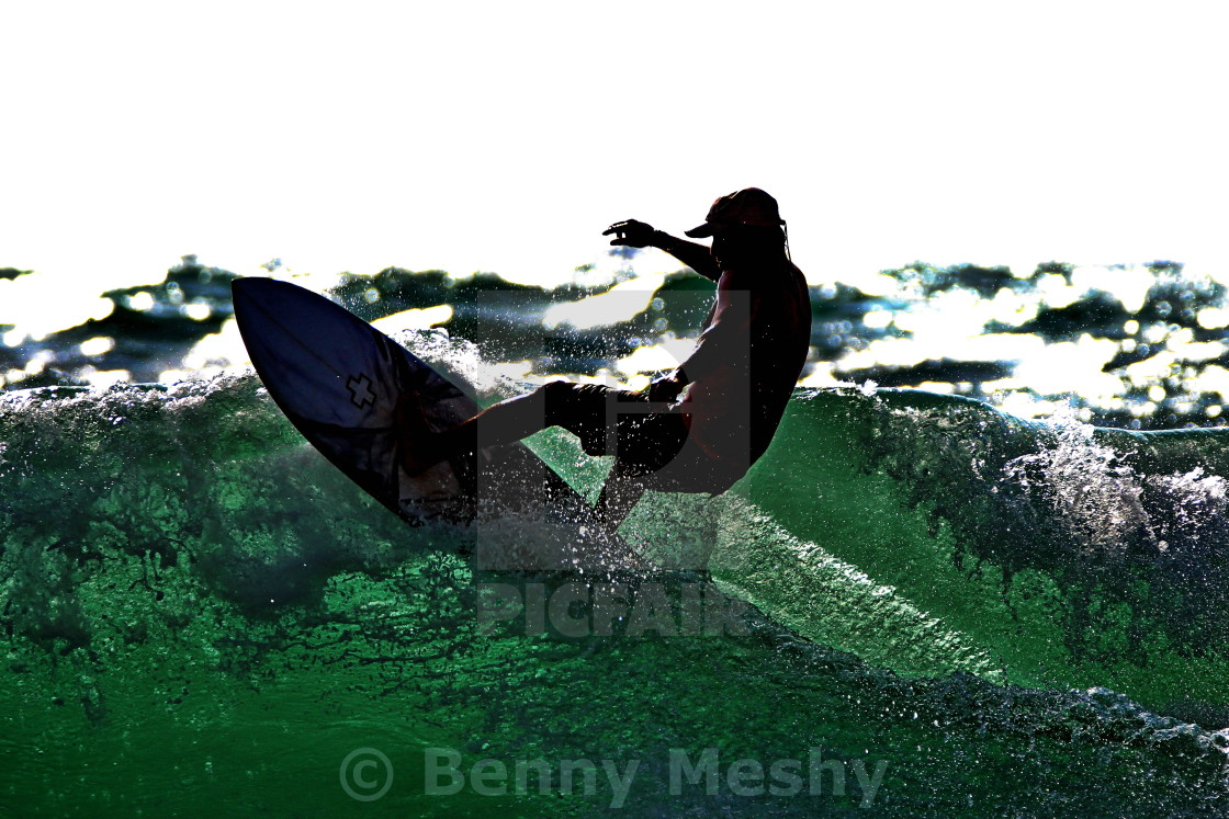 """Surfing"" stock image"