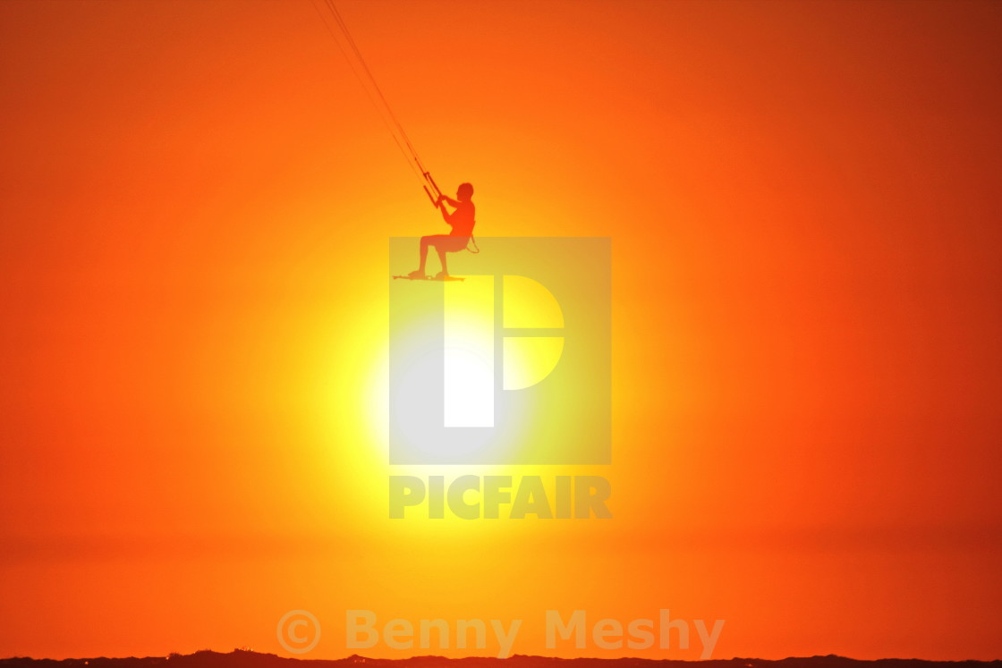 """Sitting on the sun"" stock image"