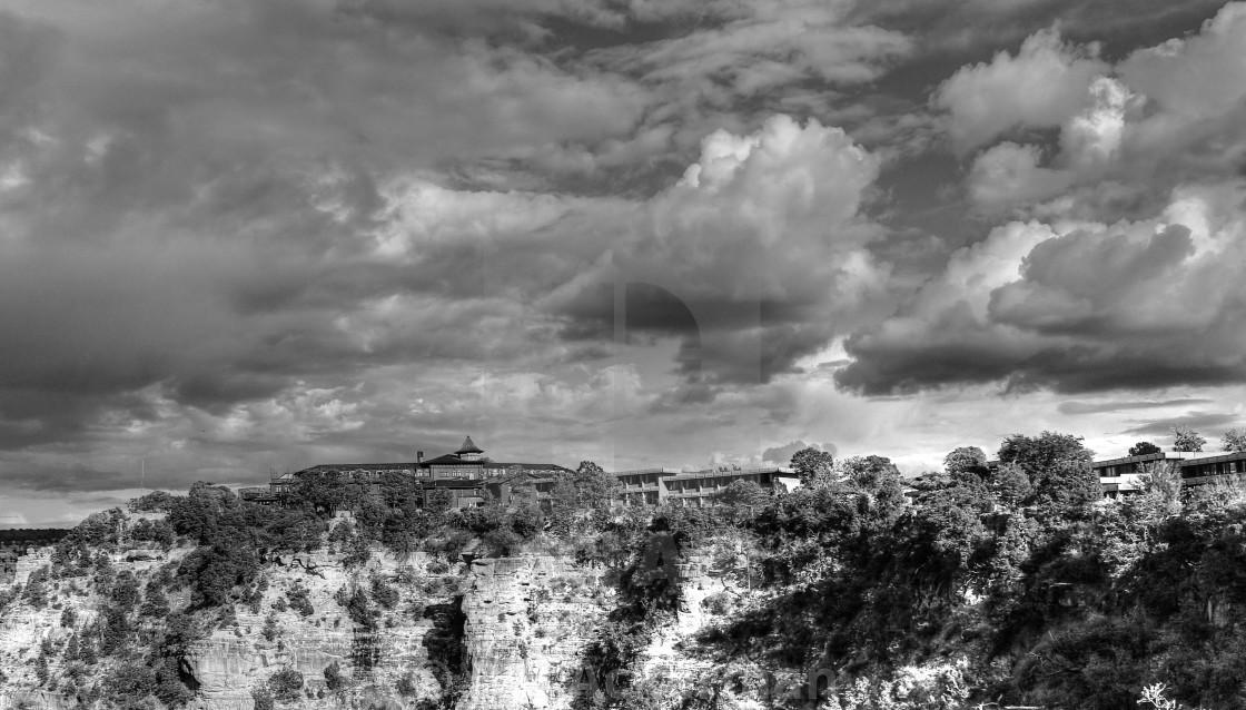 """El Tovar Hotel, Grand Canyon, AZ"" stock image"