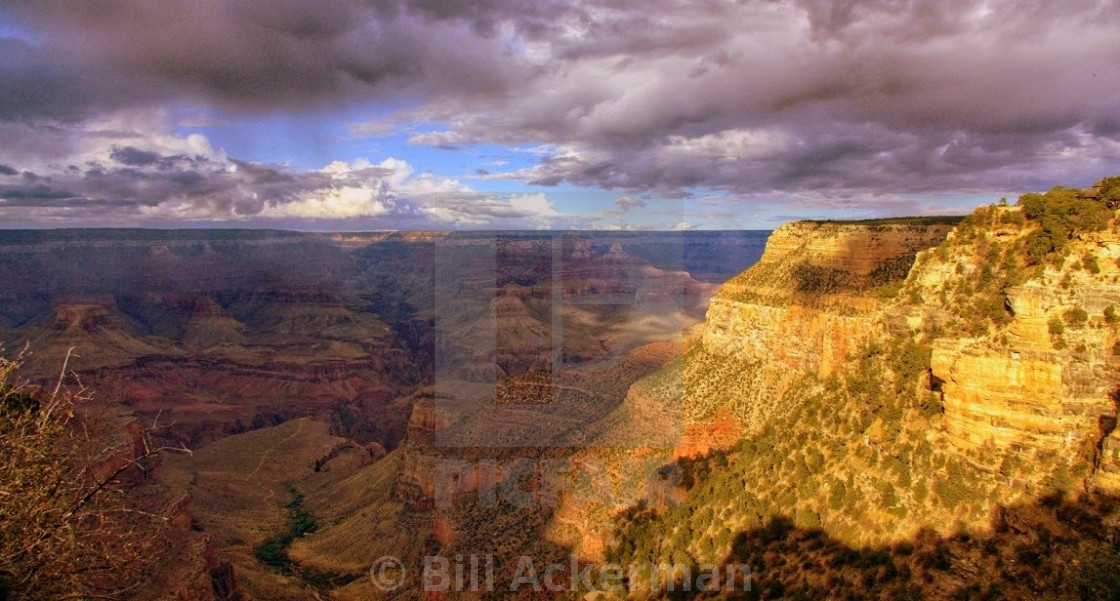 """""""Golden Hour, Grand Canyon"""" stock image"""