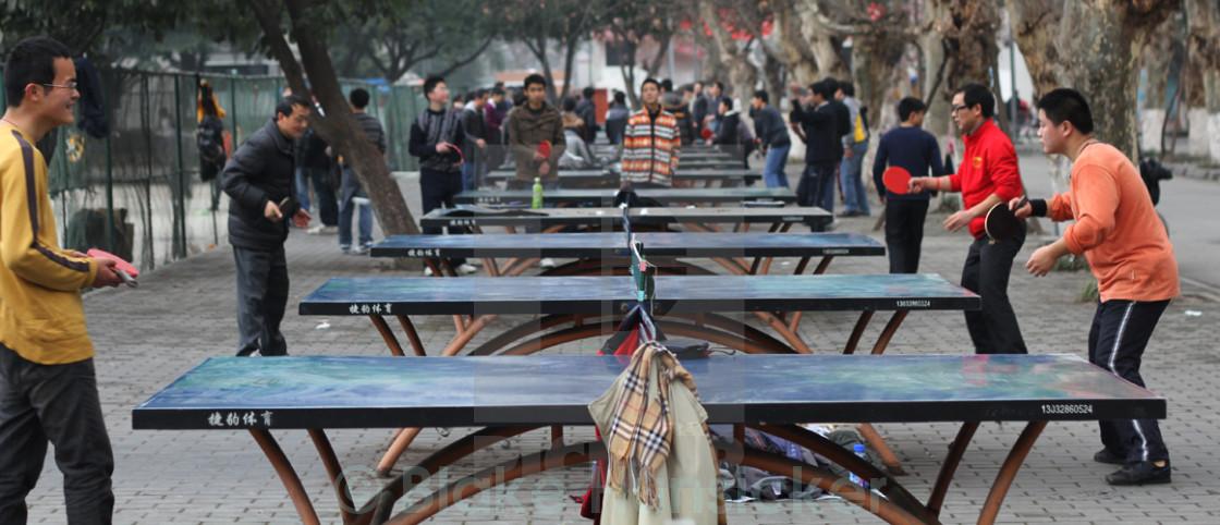 """Sichuan Ping Pong"" stock image"