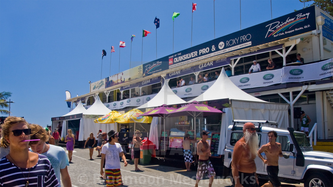 """WSL festivities—Rainbow Bay #1"" stock image"