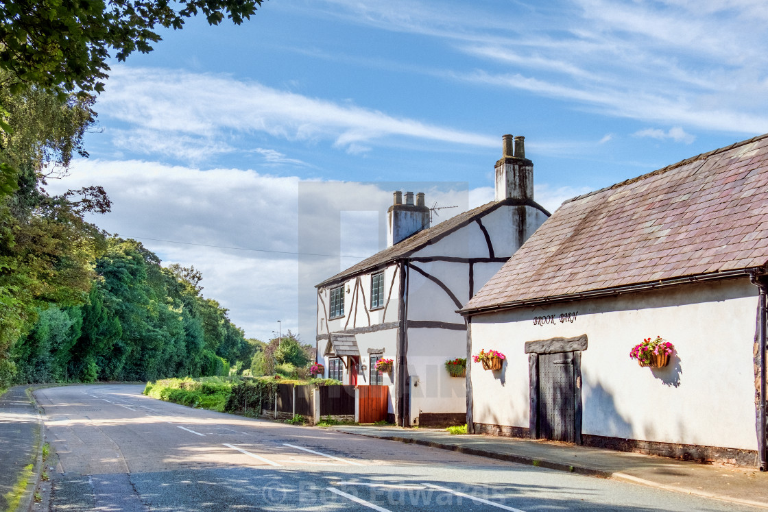 """""""Country Cottage"""" stock image"""