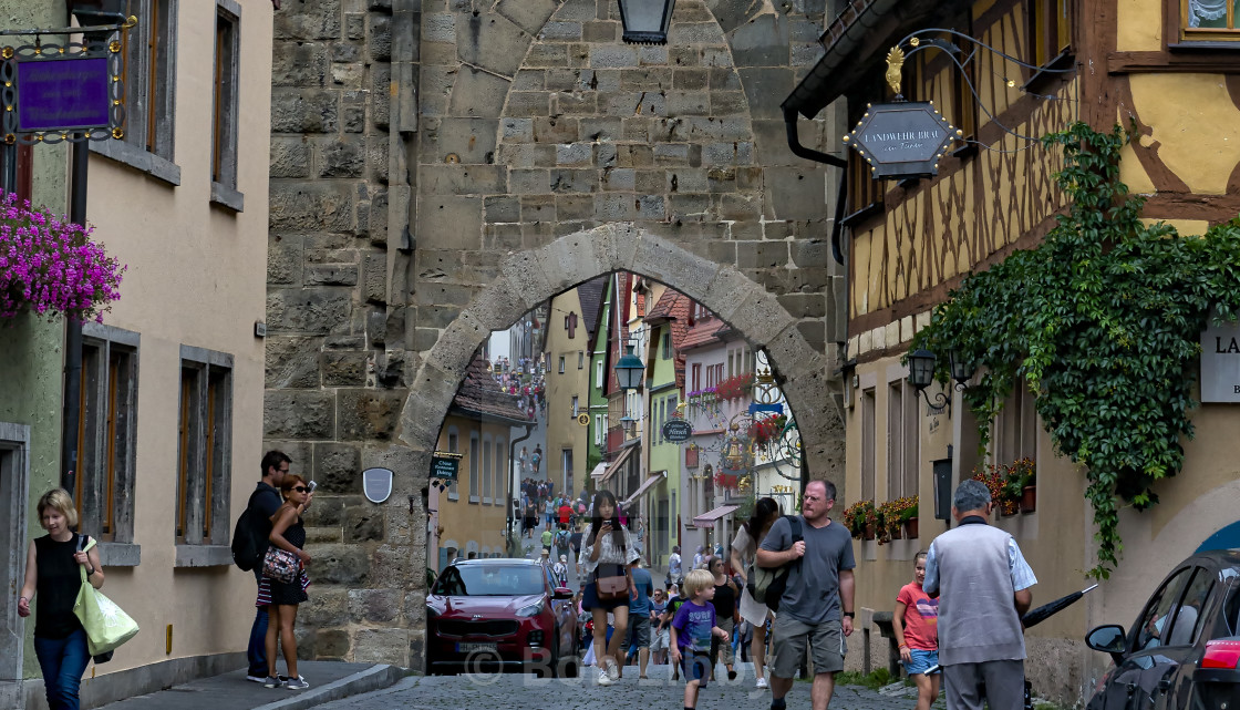 """Rothenburg Germany."" stock image"