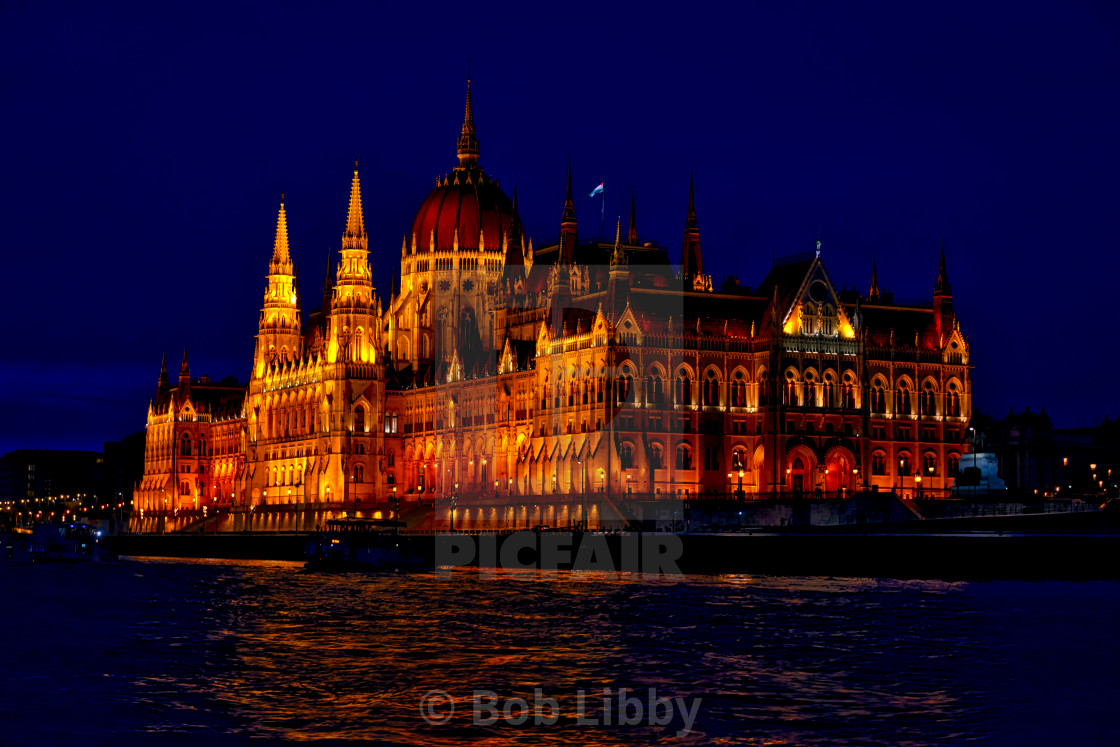 """Hungary's House of Parliament"" stock image"