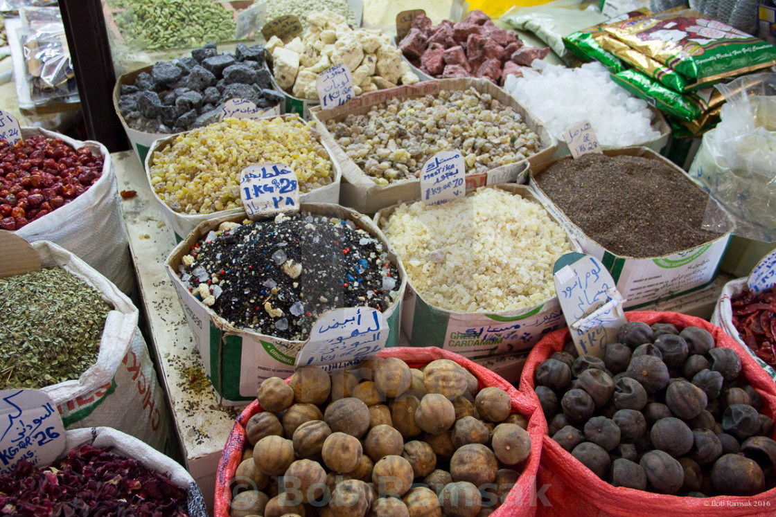 Spices, Souq Waqif, Doha - License, download or print for £4 96