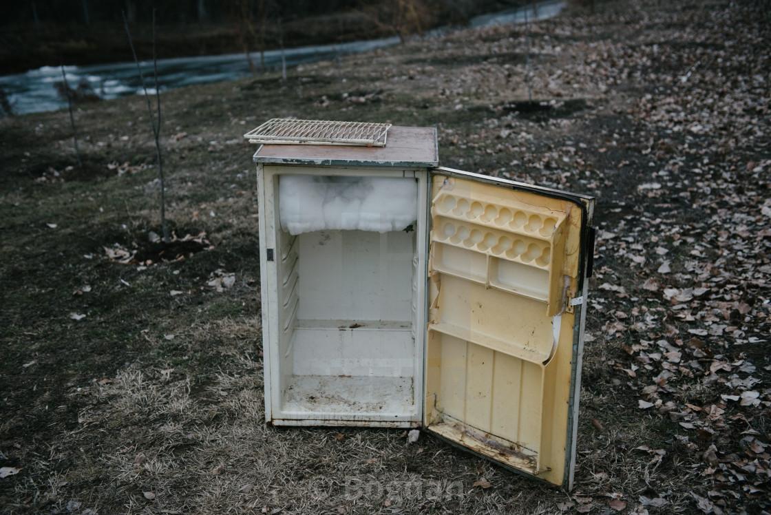 Image result for old refrigerator