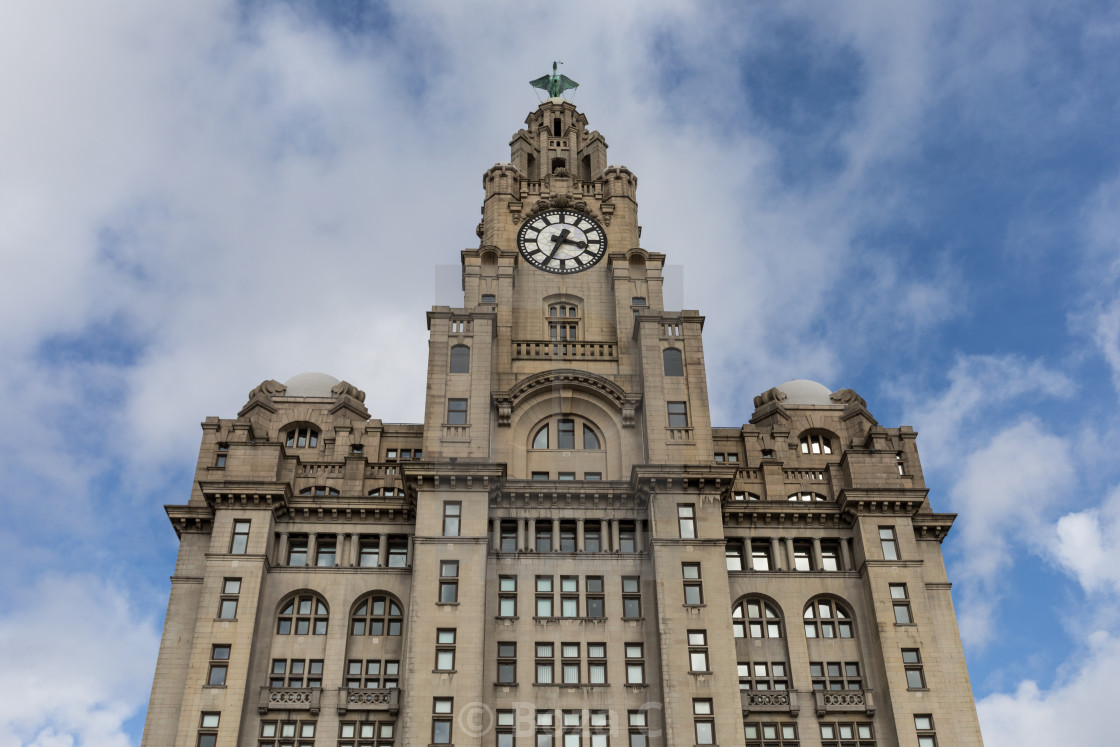 """Royal Liver Building"" stock image"