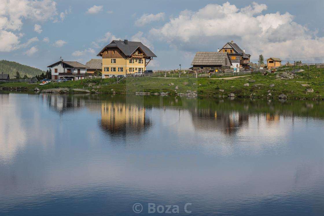 """Falkertsee, Austria"" stock image"
