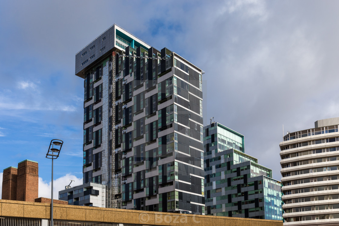 """Unity Buildings, Liverpool"" stock image"