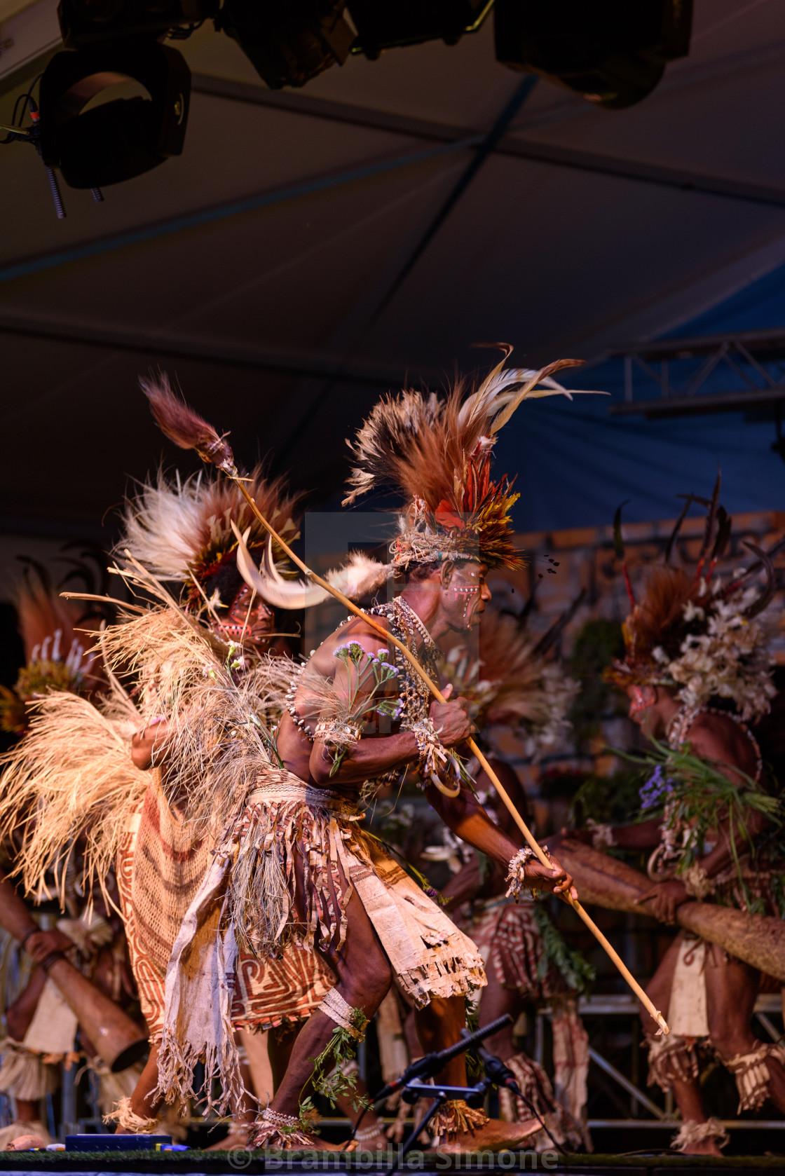 Tufi tribe at Lo Spirito Del Pianeta (BG) 01-06-2018