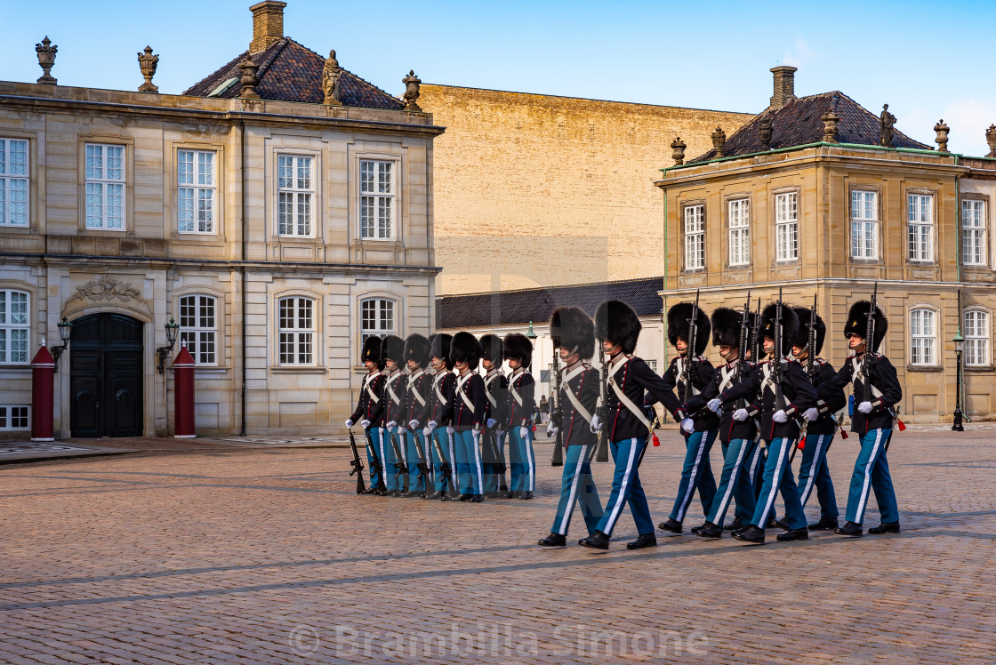 Changing the guard in Copenaghen