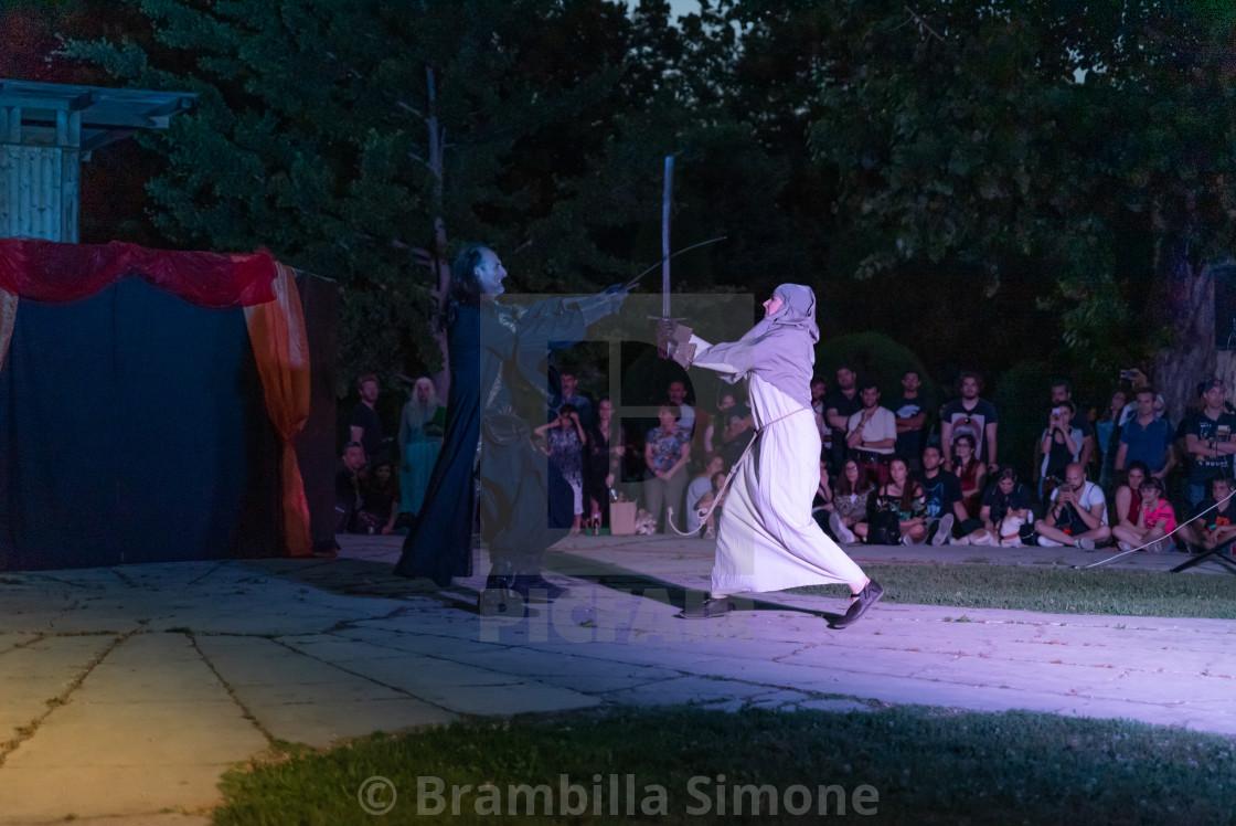 L'INCANTO DEL TRONO on medieval village of Grazzano Visconti (PC) 15-06-2019