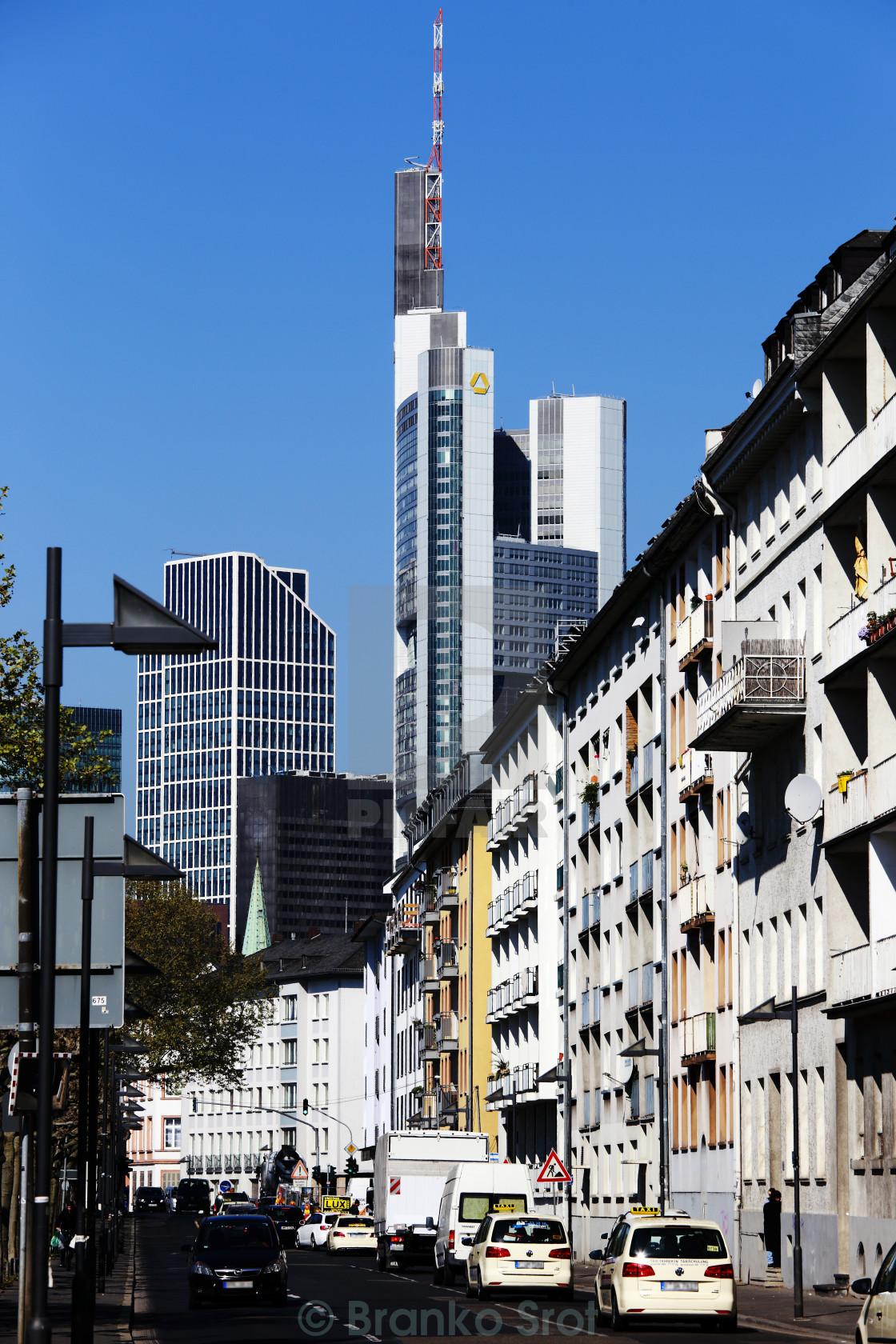 """Frankfurt 27"" stock image"