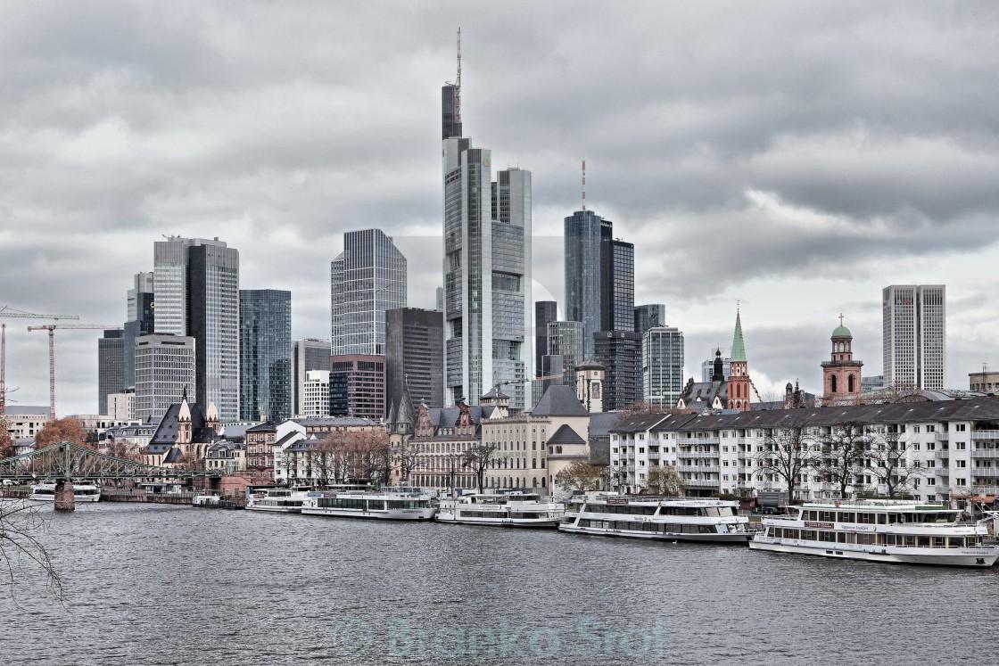 """Frankfurt 35"" stock image"