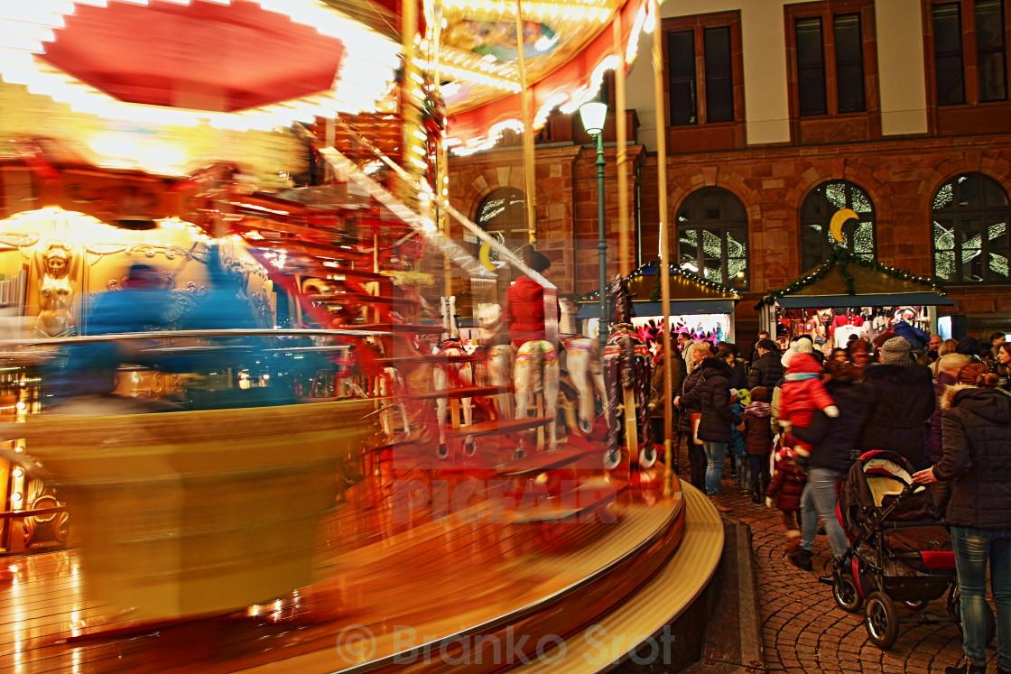 """Wiesbaden Christmas Market 2"" stock image"