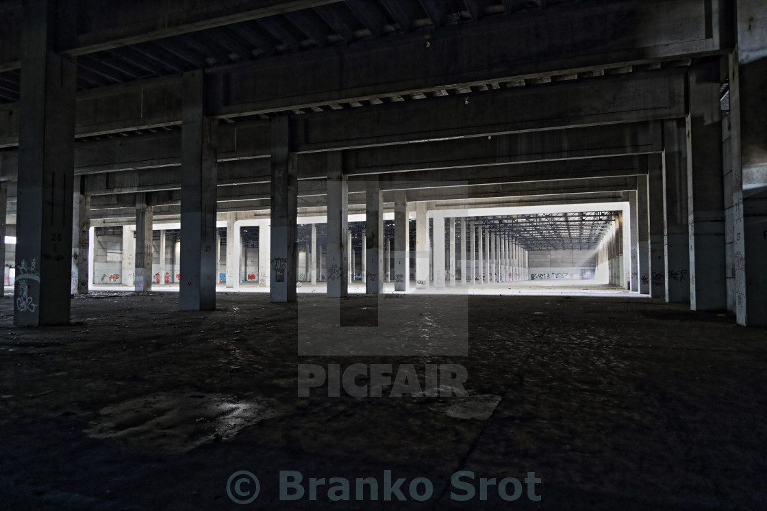 """abandoned factory 2"" stock image"