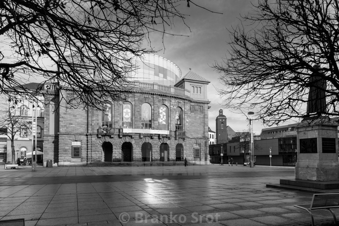 """State Theatre Mainz"" stock image"