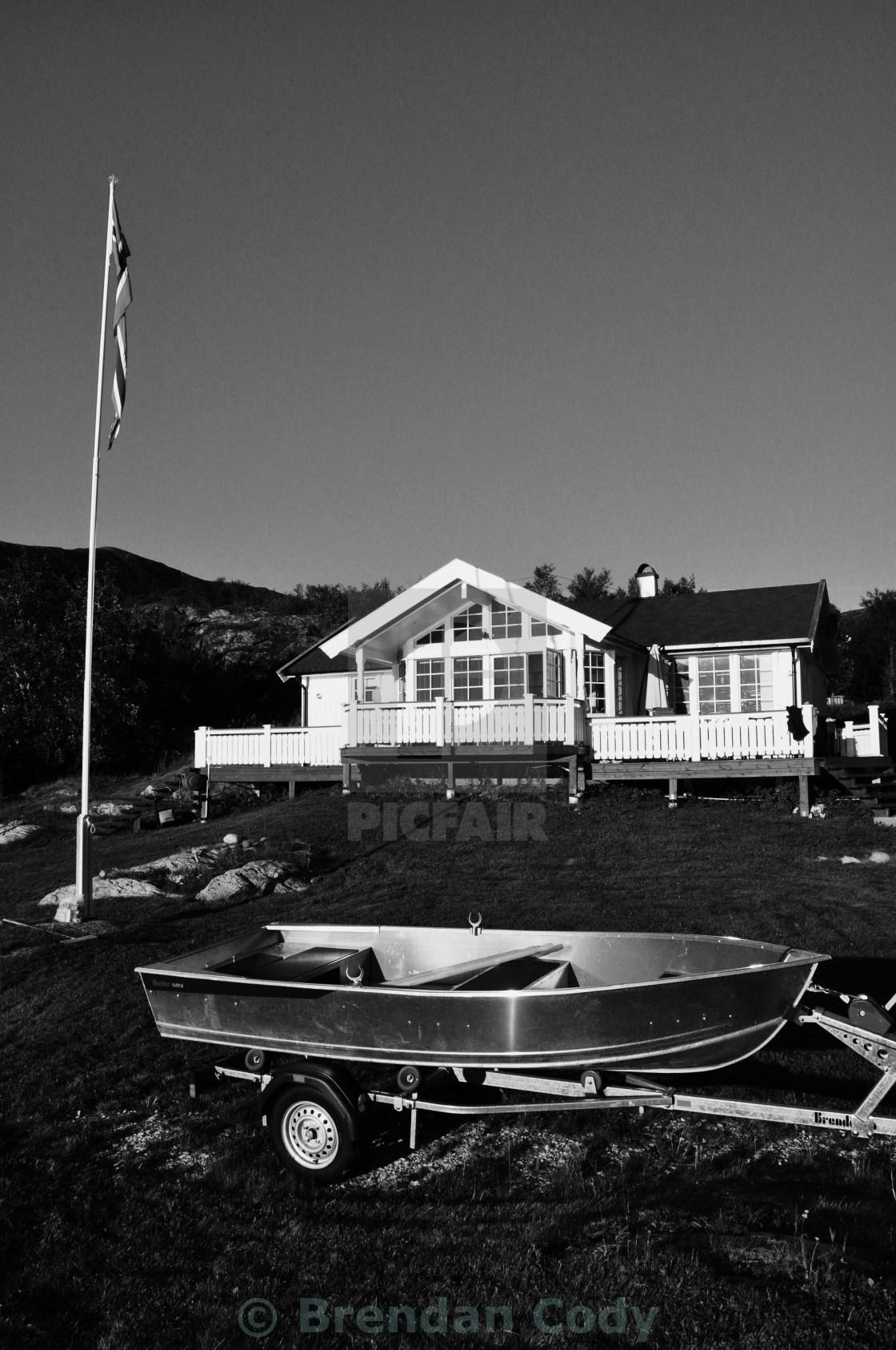 """Summer Cottage"" stock image"