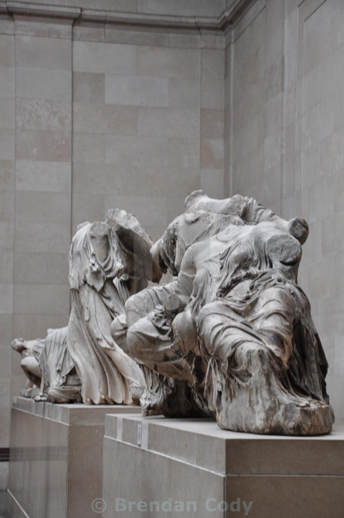 """Elgin Marbles (Parthenon Marbles)"" stock image"