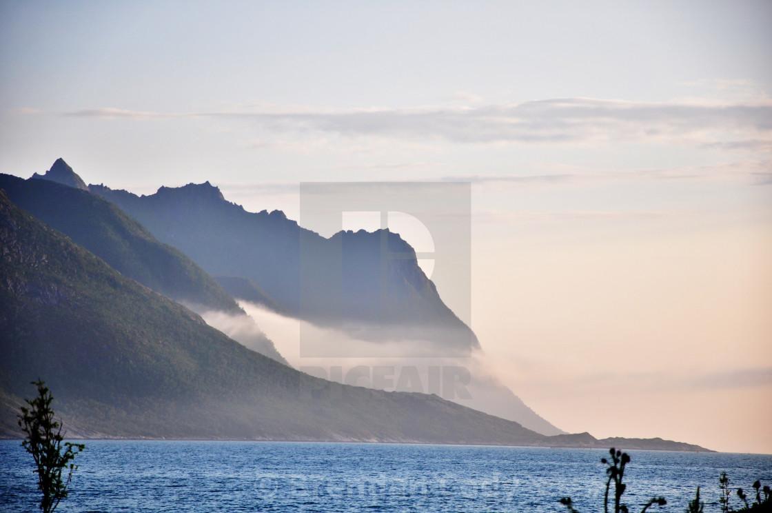 """The Arctic Circle"" stock image"