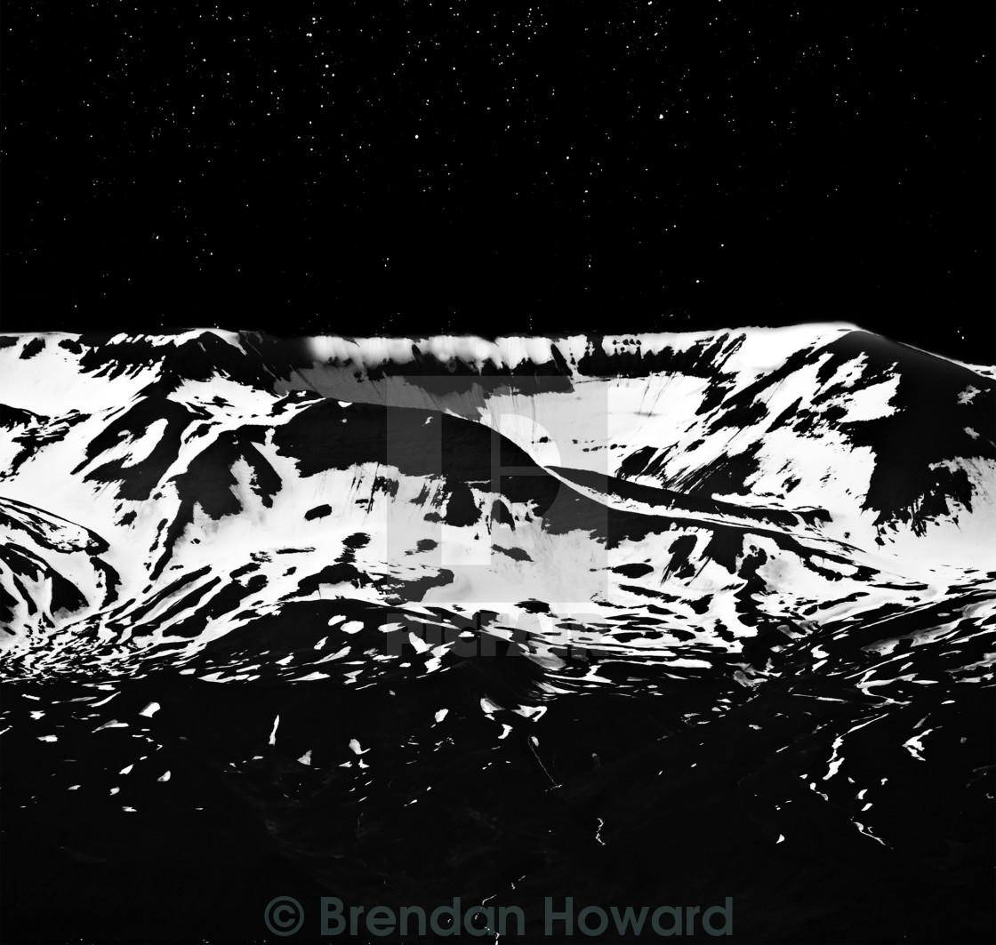 Moonlit Snowscape