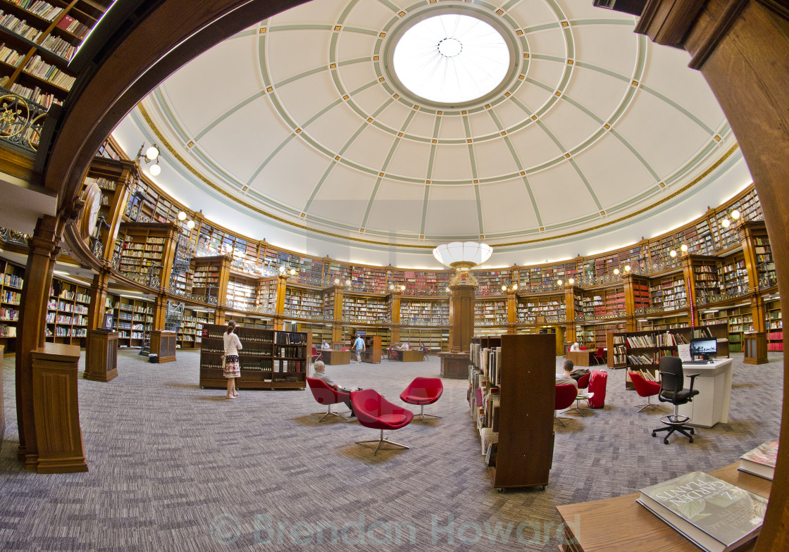 """Central Library, Liverpool"" stock image"
