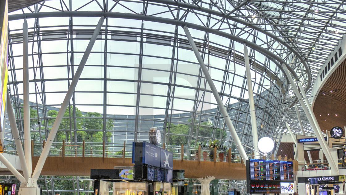 """""""Kuala Lumpur International Airport"""" stock image"""