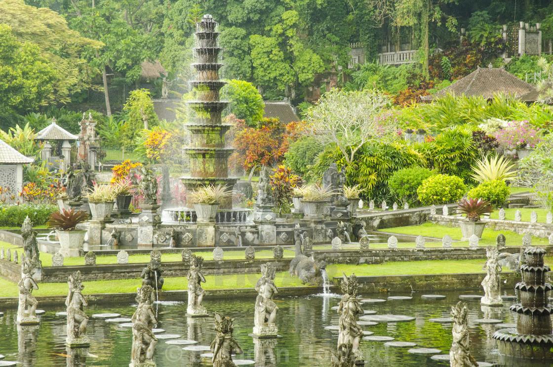"""Tirta Gangga, Bali"" stock image"