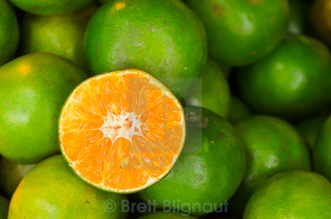 """Thai Sweet Orange"" stock image"