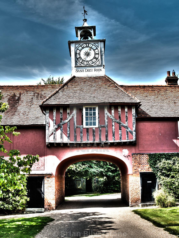 """""""Ingatestone Hall Gatehouse"""" stock image"""