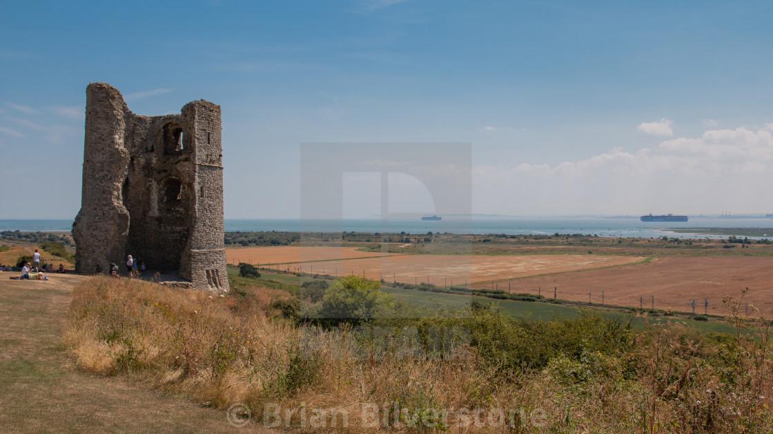 """Hadleigh Castle"" stock image"
