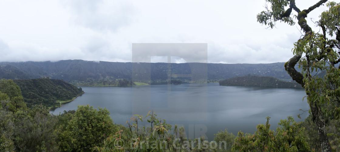"""""""Lake Wenchi"""" stock image"""