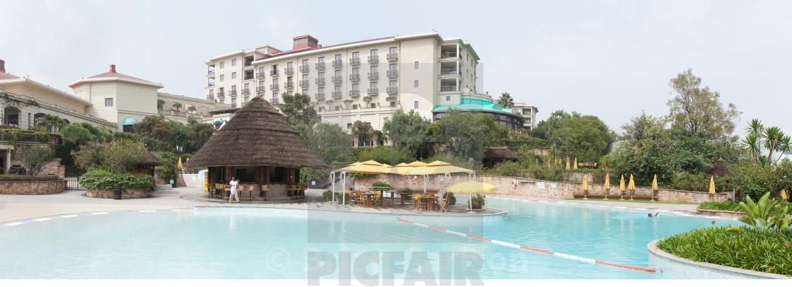 """Sheraton resort in Addis Ababa, Ethiopia"" stock image"