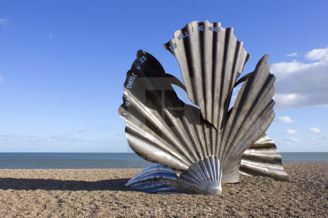"""Aldeburgh Shell"" stock image"