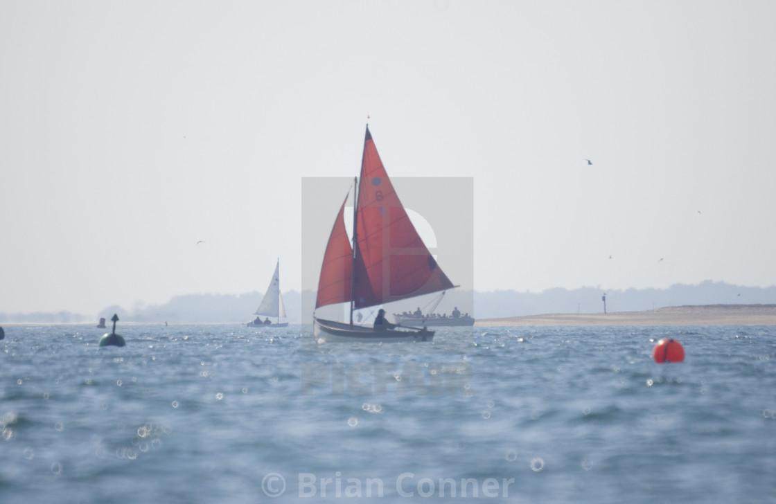 """Summer Sailing"" stock image"