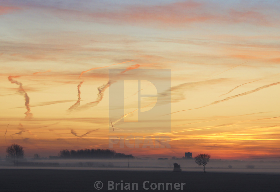 """Dawn arrives"" stock image"