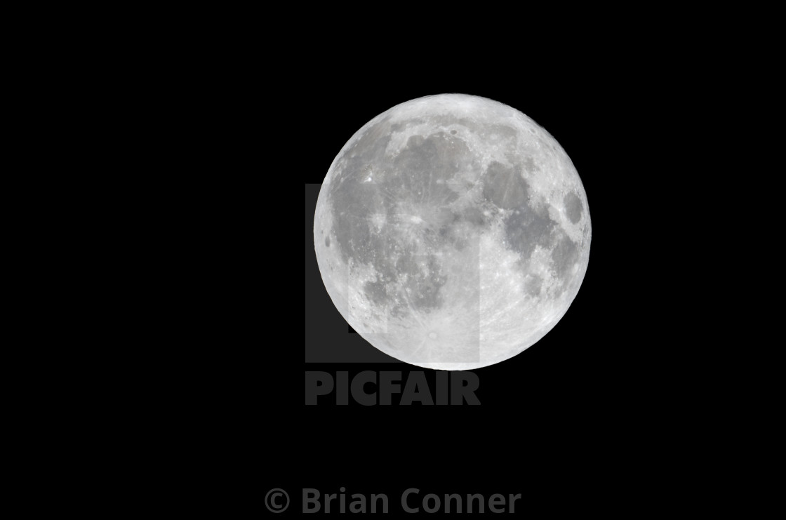 """Harvest Moon"" stock image"