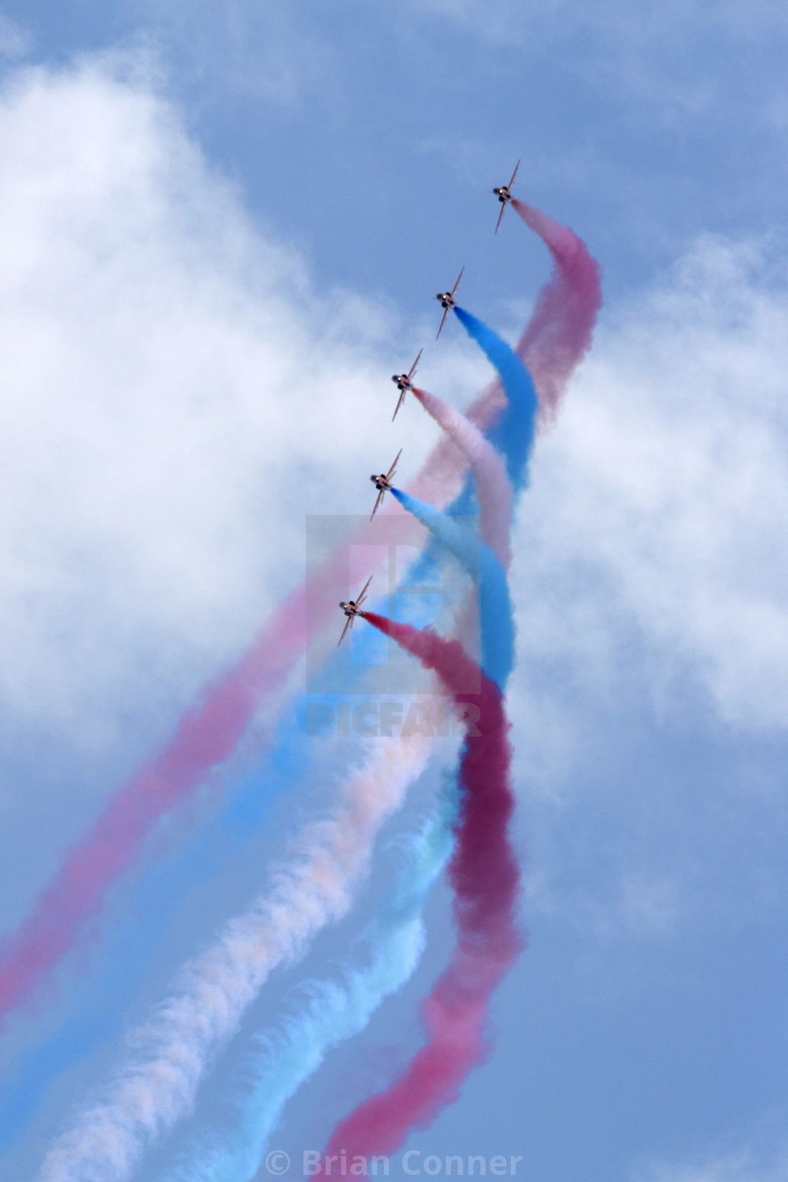 """Red Arrows 'Enid'"" stock image"