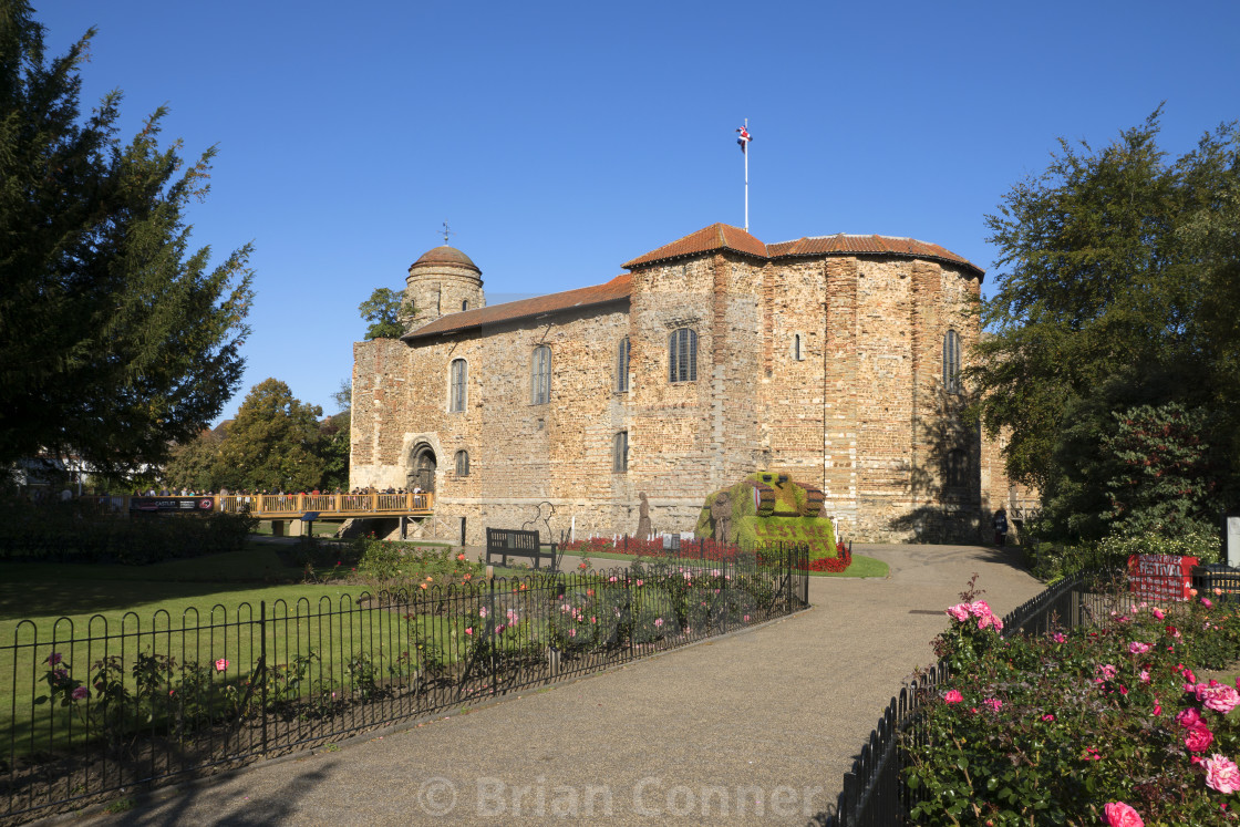 """Colchester Castle"" stock image"