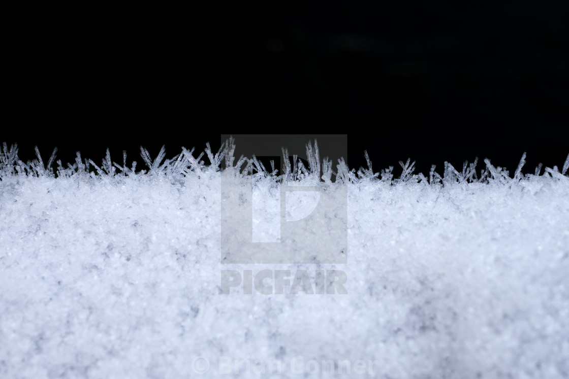 """Frost mountains"" stock image"