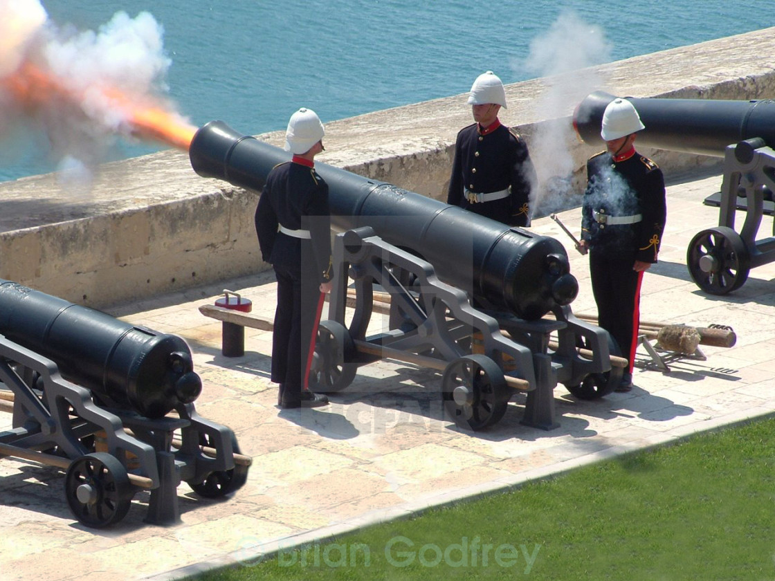 """NoonDay Gun"" stock image"