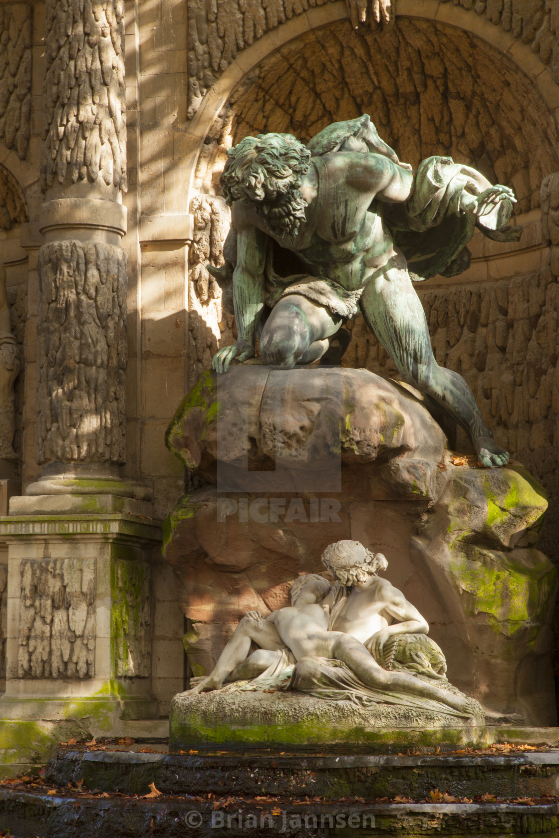 Image De Fontaine De Jardin medici fountain or fontaine de medicis with statue of acis